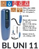 BL UNI 11 ilmankosteuden (porareikä) ja lämpötilanmittaus kosteuskartoitus